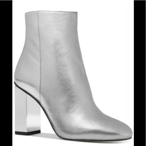 Michael Kors Petra Ankle boots sterling silver 7